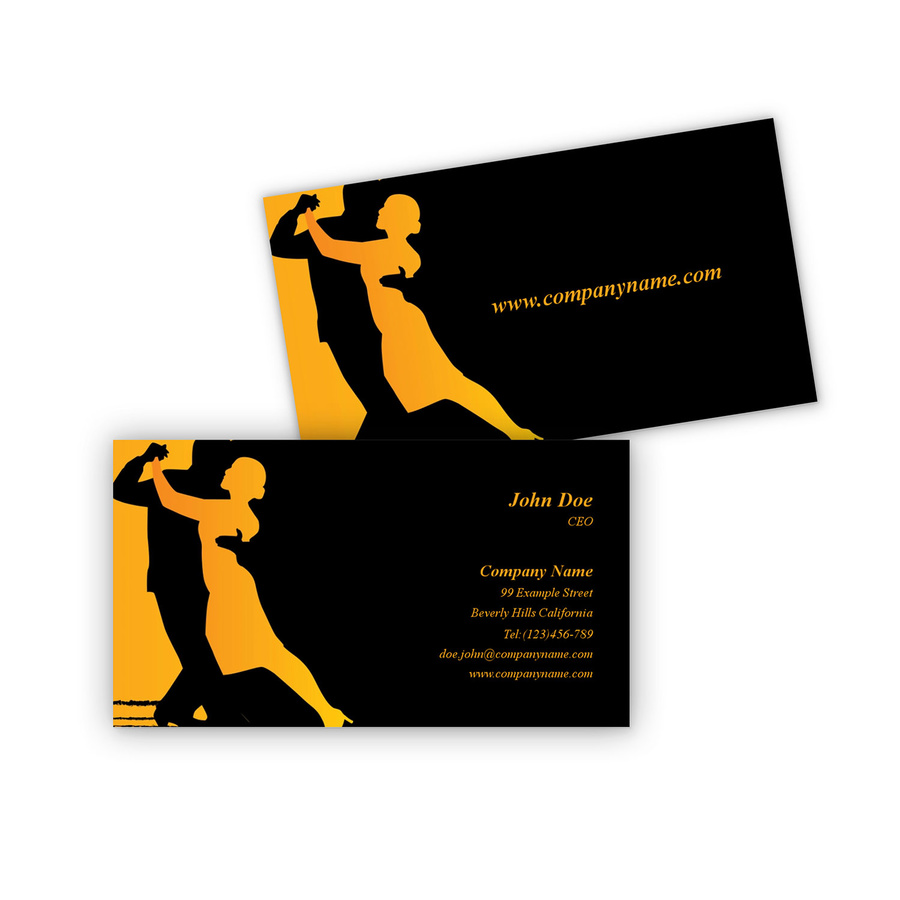 Argentine Tango business card